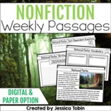 Nonfiction Close Reading (30 Weeks of Informational Passages)
