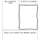 Nonfiction Close Reading Graphic Organizer {Freebie}