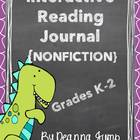 Nonfiction Interactive Reading Journal {Common Core Aligned }