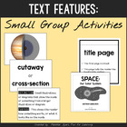 Nonfiction Text Features Activities {for Small Groups}