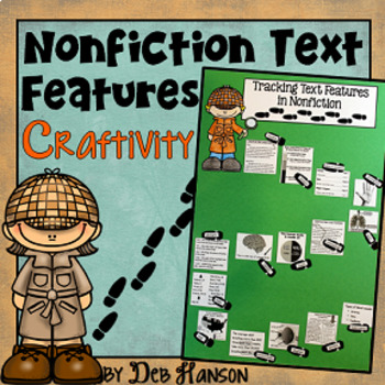 Nonfiction Text Features Craftivity