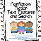 Nonfiction Text Features Sheet and Nonfiction Text Feature Search
