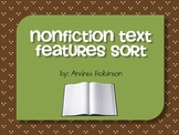 Nonfiction Text Features Sort Center
