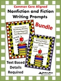 Nonfiction and Fiction: Writing Prompts Requiring Text Det