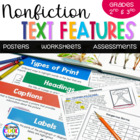 Nonfiction Text Features Resource Pack