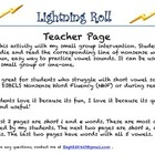 Nonsense Words Lightening Roll
