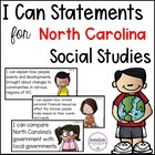 "North Carolina 4th Grade ""I Can"" Posters for Social Studie"