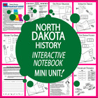 North Dakota History Lesson-Common Core-Audio Included!