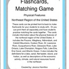 Northeast Region - Physical Features, Flashcards/Matching