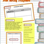 Note Taking Templates