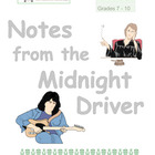 Notes From the Midnight Driver by Jordan Sonnenblick: Nove