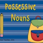 Nouns - Possessive Task Cards