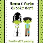 Nouns and Verbs Spooky Sort!