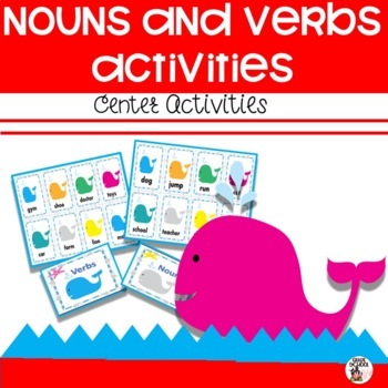 http://www.teacherspayteachers.com/Product/Nouns-and-Verbs-Center-Activity-722257