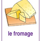 Nourriture (Food in French) mini-posters