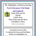 Novel Literature Unit Study and Lapbook: Sarah Plain and T
