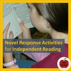 Novel Response Activity for Independent Reading