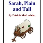 Novel Study, Sarah, Plain and Tall (by Patricia MacLachlan