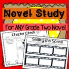 Novel Study for ANY Grade 2 Novel!