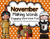 November Making Words
