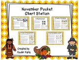 November Pocket Chart Station
