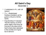 November Saint of the Day