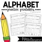Now I Know My ABCs! A-Z Practice Pages {D'Nealian Print}