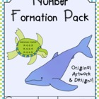 Number Formation Pack - Common Core - Learning Numbers - O