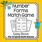 Number Forms Match Game