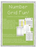 Number Grid Fun: Count, Read, Write to 120