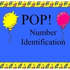 Number Identification POP! Game