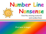 Number Line Nonsense 0-20