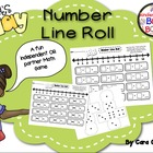 Number Line Roll - Addition Game - Common Core
