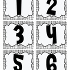 Number Matching Card Set
