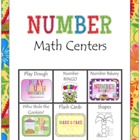 Number Math Centers