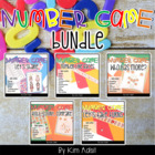 Number Math Game Bundle by Kim Adsit