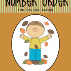 Number Order - Cards and Workmats (Common Core Aligned)