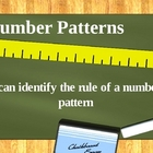 Number Patterns PowerPoint