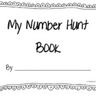 Number Scavenger Hunt Booklet