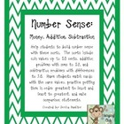 Number Sense: Addition, Subtraction, Money
