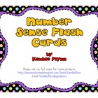 Number Sense Flash Cards (Subitizing)