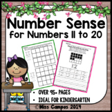 Number Sense Fluency - The Second Decade - Numbers 11 to 20