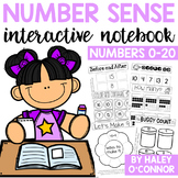Number Sense Interactive Math Notebook for Numbers 1-20