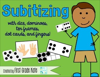 Number Sense - Subitizing with Dice, Dominoes, & Ten Frames