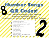 Number Songs QR Codes