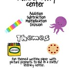 Number Story Center (Math and Literacy)