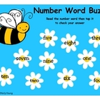 Number Word Buzz