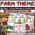 Number and Numeral Two Piece Puzzles Counting and Matching