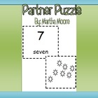 Number and Word Partner Puzzle