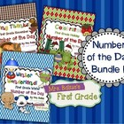 Number of the Day {November, December, January } First Gra